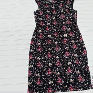 Maggy London Floral Midi Dress Size 12